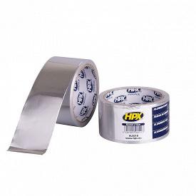 Лента алюминиевая односторонняя HPX 50 мм 10 м 0,04 мм пленка AL5010
