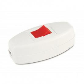 Вимикач для бра червоно-білий Mutlusan