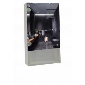 Шкаф-зеркало 40x70x14см ШК807