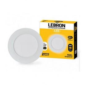LED світильник LEBRON L-PR-941 9W вбудований 4100K з блоком живлення