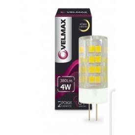 LED лампа VELMAX V-G4 4W G4 3300K 380Lm угол 360°