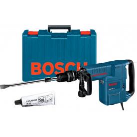 Отбойный молоток Bosch Professional GSH 11 E в чемодане с плоским зубилом
