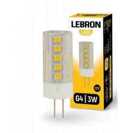 LED лампа Lebron L-G4 2W G4 4500K 200Lm кут 360°