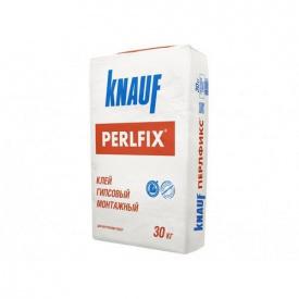 Клей гіпсовий монтажний Кнауф Перлфікс ГКП 30 кг