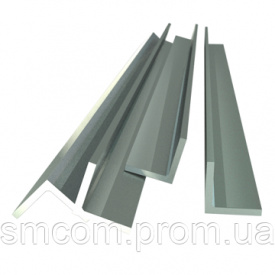 Куточок алюмінієвий АМГ2 ПР 100-7 50х50х5 мм