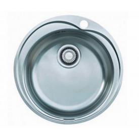 Кухонна мийка FRANKE RONDA вбудована зверху, 1-камерна Ø510 мм h180, хром 101.0255.788