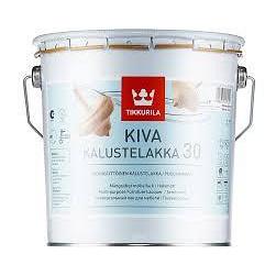 Лак Tikkurila Кива полуматовый 0,9 л