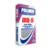 Теплозберігаюча штукатурка для газобетону POLIMIN ШЦ-5 СТАРТ-ФІНІШ 25 кг