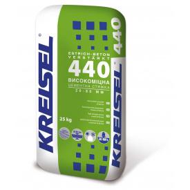 Стяжка для підлоги високоміцна цементна Beton B-35, 20-100 мм Kreisel