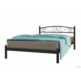 Ліжко Вероніка 140х190 + вклад ДВП Метал-Дизайн