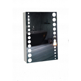 Шкаф-зеркало 36x53x12см ШК829