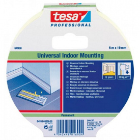 Монтажная лента для внутреннего использования 5 м 19 мм Tesa