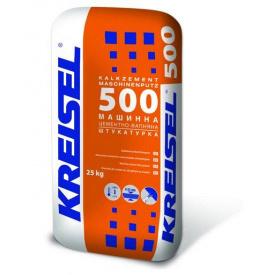 Машинна цементно-вапняна штукатурка для внутрішніх робіт 8-25 мм Kreisel