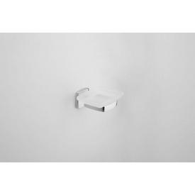 Мильниця AM.PM GEM скляна, з настінним тримачем, колір хром A9034200