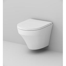 Унітаз підвісний AM.PM INSPIRE FlashClean безобідковий, без сидіння 370x540 мм, колір білий C501700WH