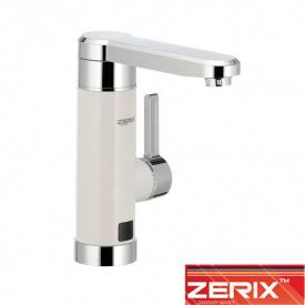 Электрический проточный водонагреватель Zerix ELW 030E (с индикатором темп) на мойку 3 кВт