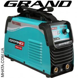 Сварочный инвертор Grand ММА-350 PROFFESSIONAL дисплей