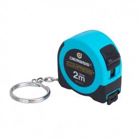 Рулетка измерительная Demass Compress mini 2мx13мм, синяя (RW 2013B)