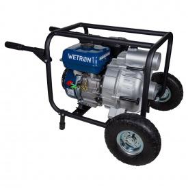 Мотопомпа Wetron 7.5 л.с. Hmax 26 м Qmax 60 м³ / год четырехтактная для грязной воды (772557)