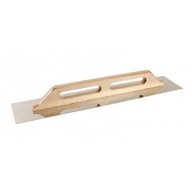 Терка нержавеющая MasterTool с деревянной ручкой 125x680 мм (08-3700)
