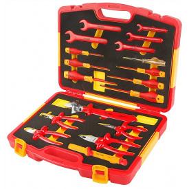 Комплект диэлектрических инструментов Tolsen 18 предметов (V83718)