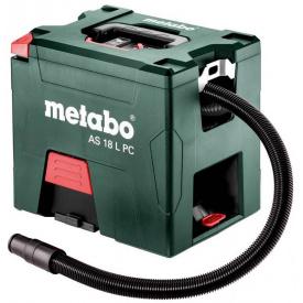 Пылесос строительный акуммуляторний Metabo 18 В AS 18 L PC (PressClean) (602021000)