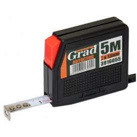 Рулетка с автостопом Grad 5мx13мм (3816055)