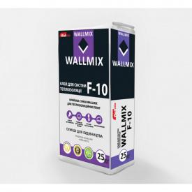 Клей для пенополистерола и минваты Wallmix F-10 25кг