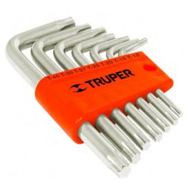 Набор ключей TRUPER Torx в пластиковой кассете, 7шт (TORX-7C)