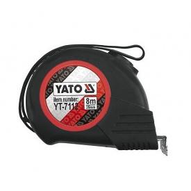 Рулетка YATO 8мx25мм (YT-7112)