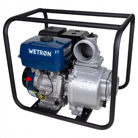 Мотопомпа Wetron 9 л.с. Hmax 26 м Qmax 110 м³ / час четырехтактная (772553)