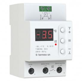 Терморегулятор Terneo SN / Термостат Тернео СН на 32 ампера