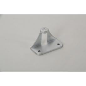 Адаптер АК-8 Falso Stile для крепления мебельной ручки на складные фасады из алюминиевых фасадных профилей хром матовый