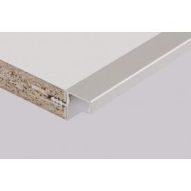 Профиль для фасадов без ручек в верхний модуль под LED-подсветкуФБР 5950 мм алюминий