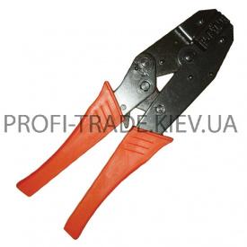 HT-7050 Клещи для обжима контактов с храповым механизмом (40/5 шт)