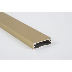 Алюминиевый рамочный профиль для мебельных фасадов М 7 5,95 м золото