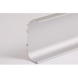 Профильалюминиевый для фасадов без ручек С-образный 5,95 м алюминиевого ФБР С
