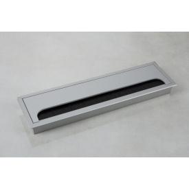 Заглушка под провода GTV MERIDA 80х280мм алюминий