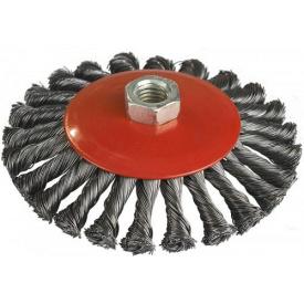 06-487 Щетка конусная (пучки витой проволоки) 100 мм М14