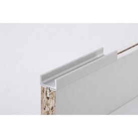 Меблева ручка профільна врізна Н 1 для ДСП 18 мм 5,95 м алюміній натуральний