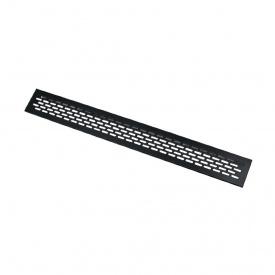 Вентиляційна решітка GTV алюмінієва 60x484 мм чорна