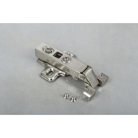 Петля GTV швидкознімна для вузького алюмінієвого профілю накладна з доводчиком з монтажною планкою 2