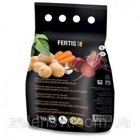 Удобрение Fertis для картофеля овощей (3 кг) NPK 11-9-20 + микроэл Литва