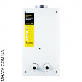 Газова колонка Термо Альянс JSD 20-10 GЕ Скло Біле 10 л на хв автомат