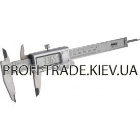 15-241 Штангенциркуль з електр відліком 150 мм / 0,01 мм метал корпус PREMIUM