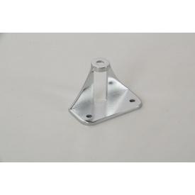 Адаптер АК-7 Falso Stile для крепления мебельной ручки на складные фасады из алюминиевых фасадных профилей хром глянец