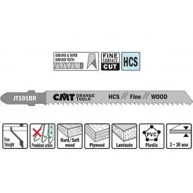 Пильне полотно СМТ для лобзика 75 100 відступ 2.5 (комплект 5 шт)