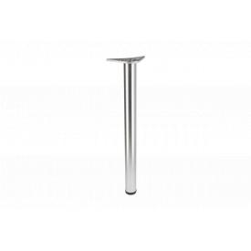 Нога мебельная GTV A 6 с регулировкой 710 мм сатин