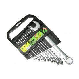 Набір ключів рожково-накидних 12 шт Alloid НК-2005-12М