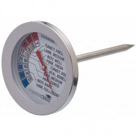 Термометр для м'яса Deluxe з нержавіючої сталі